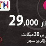 كارت تعبئة انترنت – FTTH 29,000 IQD